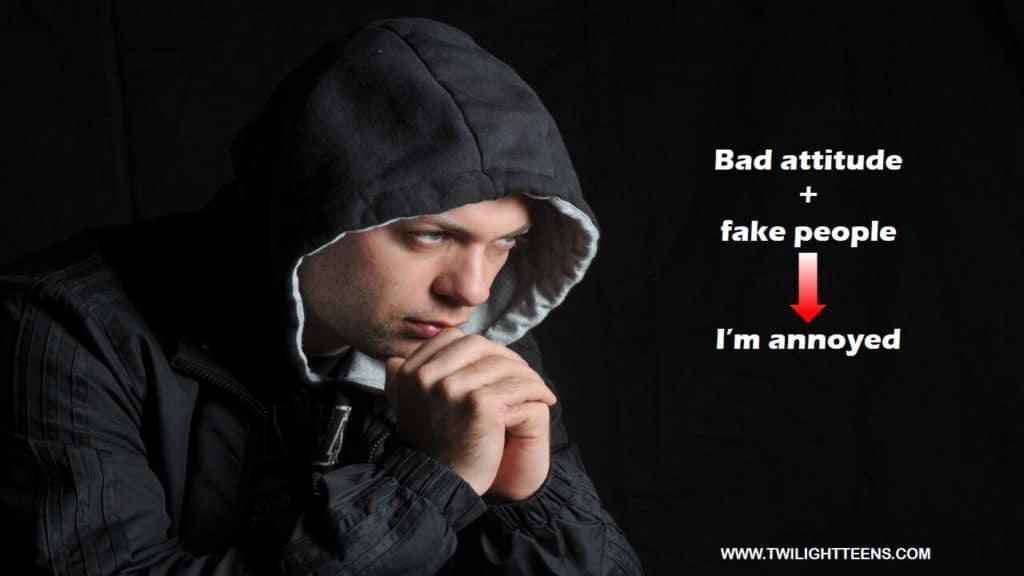 Attitude status for men