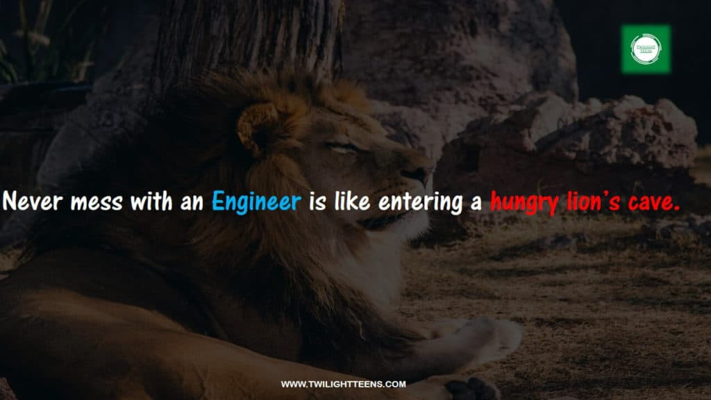 funny status about engineer
