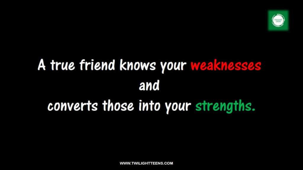 true friendship status in english