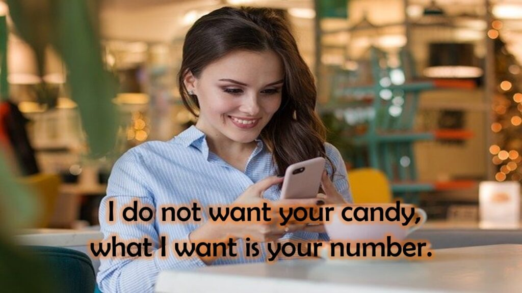cute pick up lines to get a number
