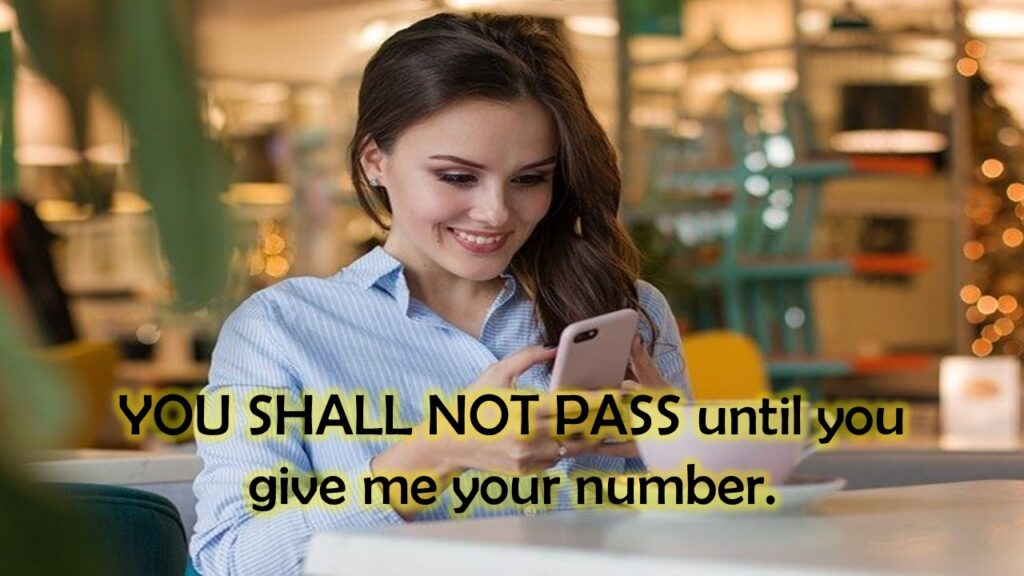 funny pick up lines for number